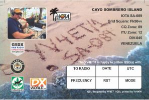 Read more: 19.12.15 1355 UTC YV4ET/1, SA-089 QSL preview